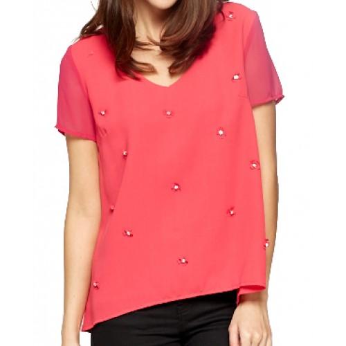 Блуза с камъни Cassi