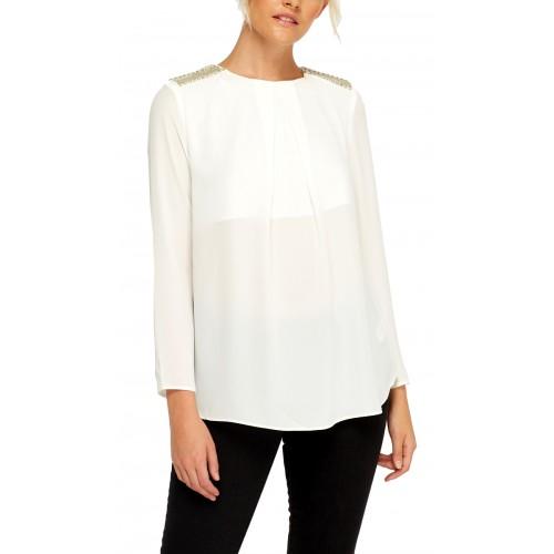 Блуза с мъниста
