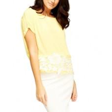 Блуза Sheer Yellow