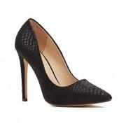 Обувки Mock Croc Black