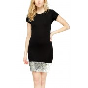 Рокля Sequin Black
